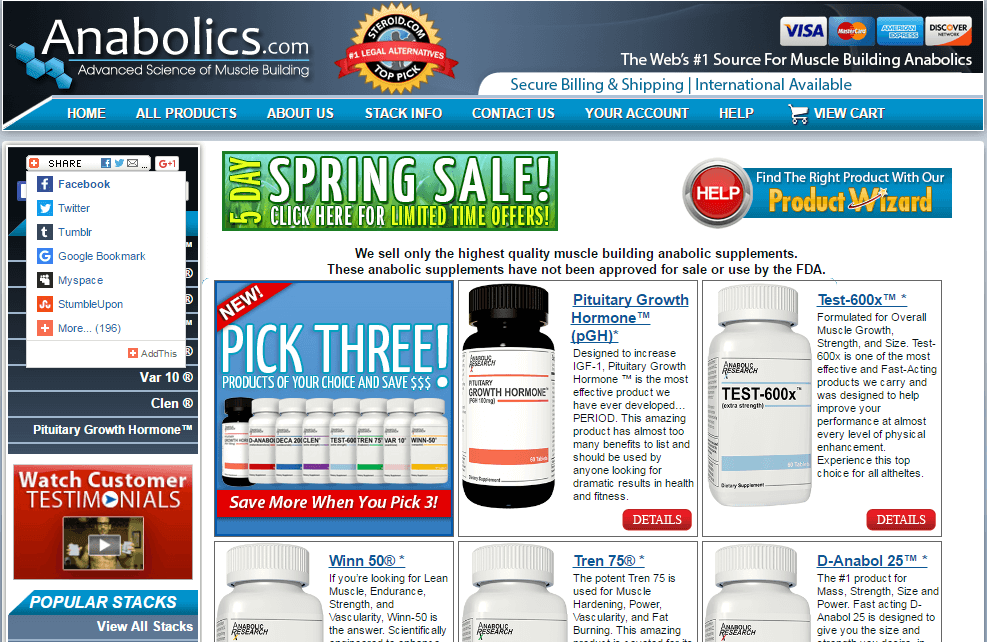 Anabolics Review