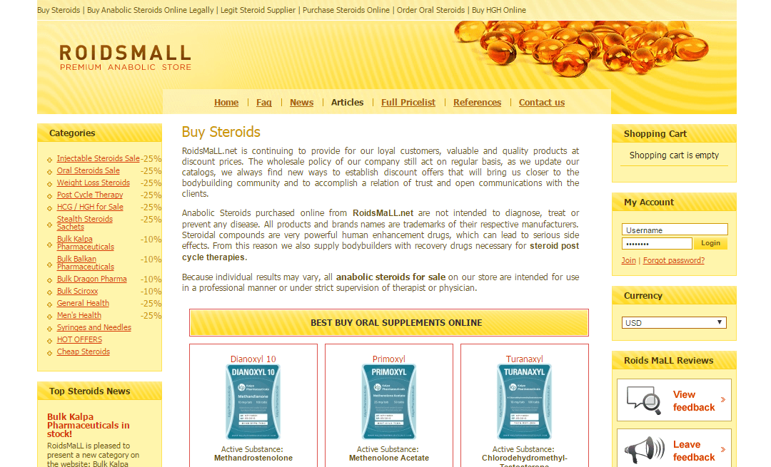 Roidsmall Review