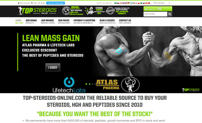 Top steroidi Online pregled